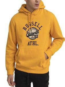 ΦΟΥΤΕΡ RUSSELL ATHLETIC 02 PULLOVER HOODY ΚΙΤΡΙΝΟ