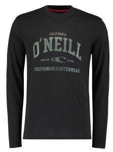 ΜΠΛΟΥΖΑ O'NEILL UNI OUTDOOR LONG SLEEVE T-SHIRT ΜΑΥΡΗ