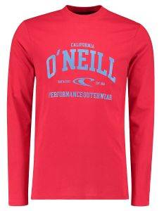 ΜΠΛΟΥΖΑ O'NEILL UNI OUTDOOR LONG SLEEVE T-SHIRT ΚΟΚΚΙΝΗ