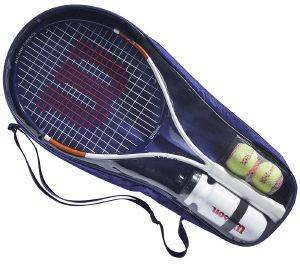 ΡΑΚΕΤΑ WILSON ROLAND GARROS ELITE 25 KIT ΛΕΥΚΗ