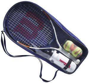 ΡΑΚΕΤΑ WILSON ROLAND GARROS ELITE 21 KIT ΛΕΥΚΗ