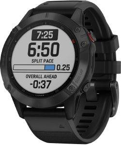 ΡΟΛΟΪ GARMIN FENIX 6 PRO BLACK WITH BLACK BAND