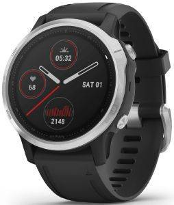 ΡΟΛΟΪ GARMIN FENIX 6S SILVER WITH BLACK BAND