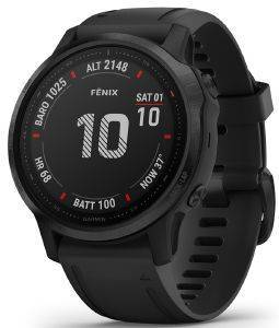 ΡΟΛΟΪ GARMIN FENIX 6S PRO BLACK WITH BLACK BAND