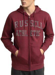 ΖΑΚΕΤΑ RUSSELL ATHLETIC CAMO TONAL PRINT ZIP THROUGH HOODY ΒΥΣΣΙΝΙ