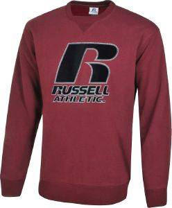 ΜΠΛΟΥΖΑ RUSSELL ATHLETIC OUTLIBE CREWNECK SWEATSHIRT ΜΠΟΡΝΤΟ