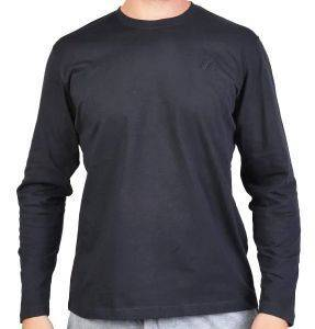 ΜΠΛΟΥΖΑ RUSSELL ATHLETIC L/S CREWNECK TEE ΜΑΥΡΗ