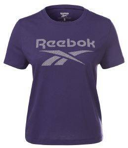 ΜΠΛΟΥΖΑ REEBOK SPORT WORKOUT READY SUPREMIUM BIG LOGO T-SHIRT ΜΩΒ