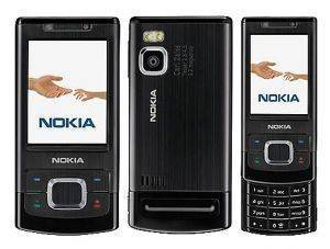 NOKIA 6500 SLIDE BLACK 3G