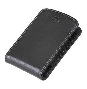 BLACKBERRY CURVE 8520 LEATHER POCKET CARRYING CASE