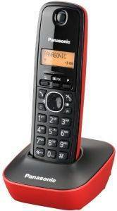 PANASONIC DECT KX-TG1611 BLACK-RED