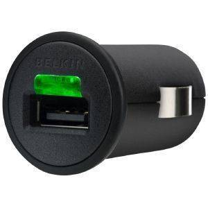 BELKIN F8Z571CW03 MICRO CAR CHARGER 1000MAH FOR IPHONE