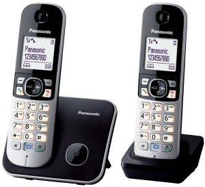 PANASONIC KX-TG6812 DUO BLACK