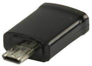 VALUELINE VLMP39020B MHL ADAPTER USB MICRO Β 11-PIN MALE TO MICRO Β FEMALE BLACK
