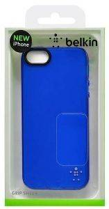BELKIN F8W093VFC02 GRIP SHEER CASE FOR IPHONE 5 BLUE