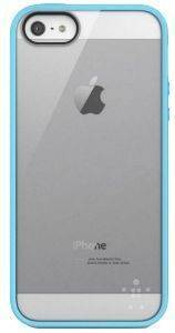 BELKIN F8W153VFC04 TPU VIEW CASE FOR IPHONE 5 LIGHT BLUE
