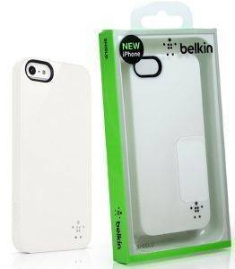 BELKIN F8W159VFC01 SHIELD FOR IPHONE 5 WHITE