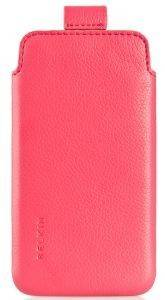 BELKIN F8W044CWC02 LEATHER CASE VERVE PULL FOR IPHONE 4S PINK