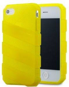 COOLERMASTER TPU C-IF4C-HFCW-3Y CLAW IPHONE 4/4S CASE TRANSLUCENT YELLOW