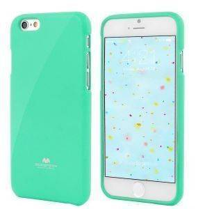 ΘΗΚΗ TPU GOOSPERY APPLE IPHONE 6 PLUS JELLY SERIES MINT GREEN