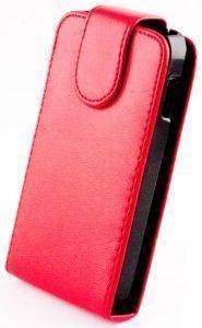 LEATHER CASE FOR IPHONE 5/5S -RED