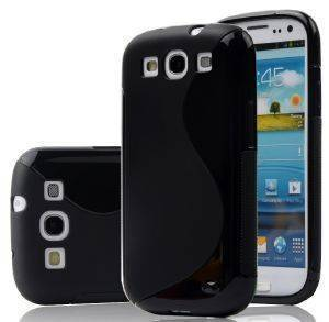 HYBRID CASE FOR SAMSUNG I9300 I9301 GALAXY S III BLACK τηλεπικοινωνίες θηκεσ samsung