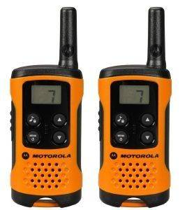 MOTOROLA TLKR T41 WALKIE TALKIE ORANGE