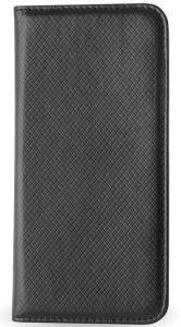 LEATHER CASE SMART MAGNET FOR SAMSUNG S4 I9500 BLACK
