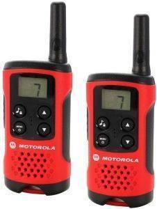 MOTOROLA TLKR-T40 WALKIE TALKIE τηλεπικοινωνίες walkie talkie μη εγχρωμη οθονη
