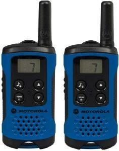 MOTOROLA TLKR T41 WALKIE TALKIE BLUE τηλεπικοινωνίες walkie talkie μη εγχρωμη οθονη