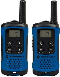 MOTOROLA TLKR T41 WALKIE TALKIE BLUE