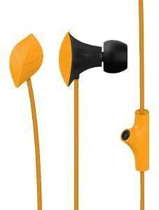 SONIC GEAR NEOPLUG LEAF NEPLBOR HEADPHONES ORANGE