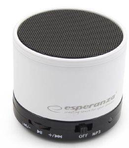 ESPERANZA EP115W RITMO BLUETOOTH SPEAKER WHITE