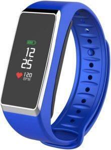 MYKRONOZ ZEFIT 2 PULSE SMARTWATCH BLUE SILVER τηλεπικοινωνίες smart watches smartwatches