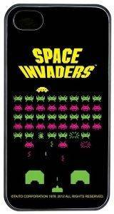50 FIFTY CONCEPTS SPACE INVADERS IPHONE 4/4S CASE PLASTIC BLACK