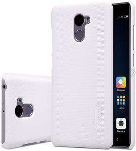 NILLKIN FROSTED TPU BACK COVER CASE FOR XIAOMI REDMI 4 WHITE