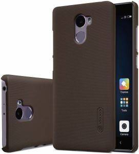 NILLKIN FROSTED TPU BACK COVER CASE FOR XIAOMI REDMI 4 BROWN