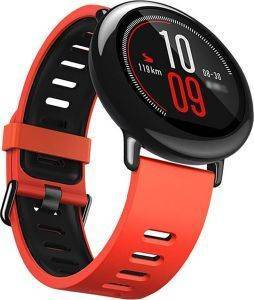XIAOMI HUAMI AMAZFIT SMARTWATCH RED BLACK