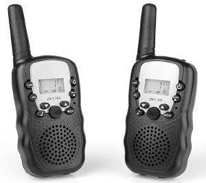 WALKIE TALKIE TELCO T668 6KM VOX ΜΑΥΡΟ τηλεπικοινωνίες walkie talkie μη εγχρωμη οθονη