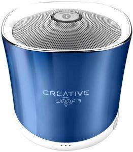 CREATIVE WOOF3 MICRO-SIZED BLUETOOTH MP3/FLAC SPEAKER SPRING CRYSTALLITE