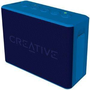 CREATIVE MUVO 2C PALM-SIZED WATER-RESISTANT BLUETOOTH SPEAKER WITH BUILT-IN MP3 PLAYER BLUE