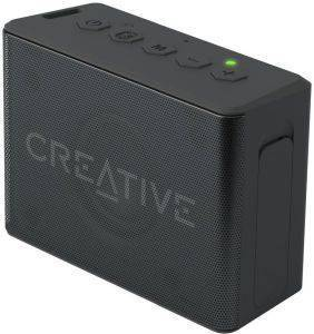 CREATIVE MUVO 2C PALM-SIZED WATER-RESISTANT BLUETOOTH SPEAKER WITH BUILT-IN MP3 PLAYER BLACK