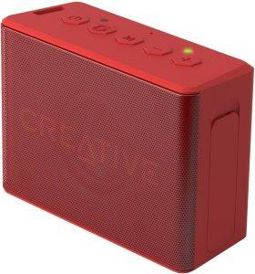 CREATIVE MUVO 2C PALM-SIZED WATER-RESISTANT BLUETOOTH SPEAKER WITH BUILT-IN MP3 PLAYER RED