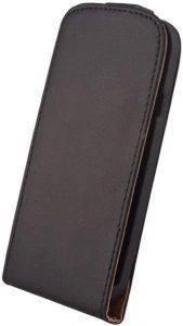 SLIGO ELEGANCE LEATHER CASE FOR HTC DESIRE 610 BLACK