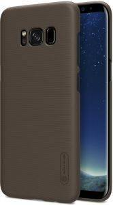 NILLKIN FROSTED TPU BACK COVER CASE FOR SAMSUNG GALAXY S8+ PLUS BROWN