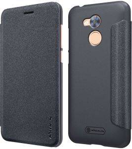 NILLKIN SPARKLE LEATHER FLIP CASE FOR HUAWEI HONOR 6A BLACK