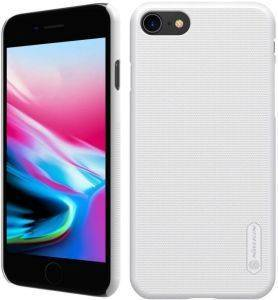 NILLKIN SUPER FROSTED SHIELD BACK COVER CASE FOR APPLE IPHONE 8 WHITE