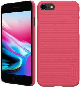 NILLKIN SUPER FROSTED SHIELD BACK COVER CASE FOR APPLE IPHONE 8 RED