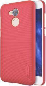 NILLKIN SUPER FROSTED SHIELD BACK COVER CASE FOR HUAWEI HONOR 6A -RED