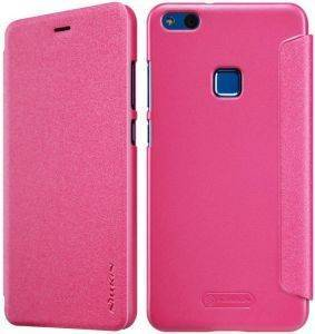 NILLKIN SPARKLE FLIP LEATHER CASE FOR HUAWEI P10 LITE PINK